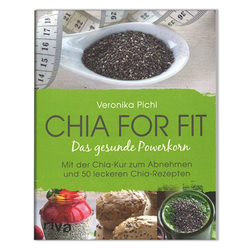 Chia for fit, Sach- und Kochbuch