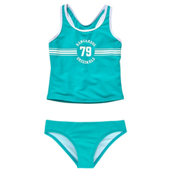 KangaROOS Tankini Sporty mit sportlichem Frontdruck blau 134/140