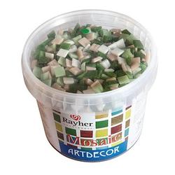 Rayher Mosaiksteine grün 1,0 x 1,0 cm 1 Pack