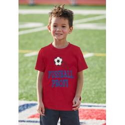 KIDSWORLD T-Shirt FUSSBALLPROFI 140/146