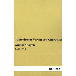 Walliser Sagen - Buch