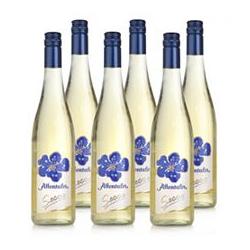 AFFENTALER WEIN Secco weiß 6 Flaschen je 0,75l