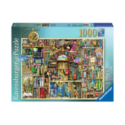 Ravensburger Puzzle Magisches Bücherregal Nr. 2, 1000 Puzzleteile, Made in Germany