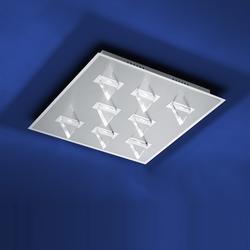 B-Leuchten LED-Deckenleuchte Kristall Chrom Kristall 70338/8-02