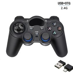 kueatily 2.4G drahtloses Gamepad geeignet für PC-TV-Set-Top-Box PS3 Android-Handy Smart Gamepad Gamepad