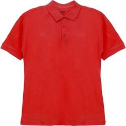 Herren-Poloshirt Rot L
