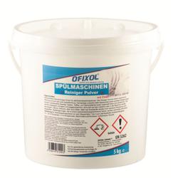Ofixol Geschirrspülpulver für Spülmaschinen, kraftvolles, wirksames Spülmittel, 5 kg - Eimer