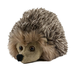 Teddys Rothenburg Kuscheltier Igel grau 16 cm (Stoffigel Plüschigel Plüschtiere Hase und Igel Stofftiere)