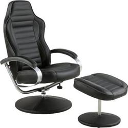 PKline Funktionssessel OLE in schwarz/grau Sessel Ruhesessel