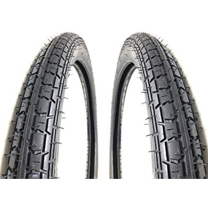 2x Reifen Kenda 2,25 x 19 (2 1/4 x 19 Zoll) für Simson SR2 Mofa Moped Mokick