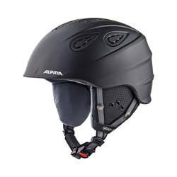 Alpina Sports Skihelm Skihelm Grap 2.0 black matt 54-57