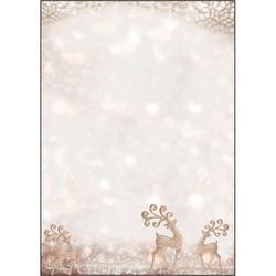 Weihnachts-Motiv-Papier A4 90g Brilliant Deer VE=100 Blatt