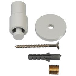 Deckenträger Power, Liedeco, Gardinenstangen, (1-St), für Gardinenstangen Ø 20 mm weiß