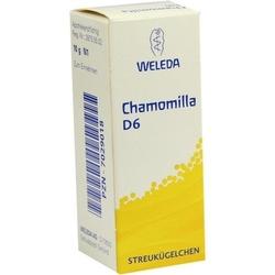 CHAMOMILLA D 6 Globuli 10 g
