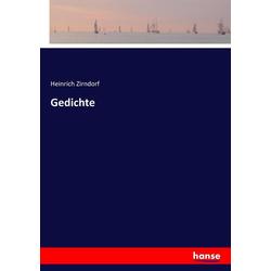 Gedichte als Buch von Heinrich Zirndorf