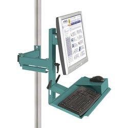 Manuflex ZB8287.5021 Ergonomie Monitorträger für CANTOLAB und ALU mit Tastatur- und Mausfläche, V