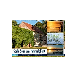 Stille Seen um Himmelpfort (Wandkalender 2021 DIN A3 quer) - Kalender