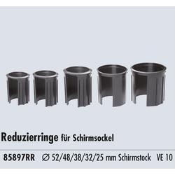 Doppler Reduzierringe für Schirmständer 52 48 38 32 25 mm Innendurchmesser