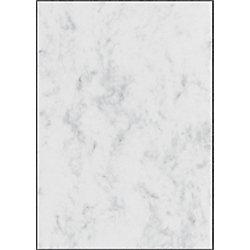 Sigel Designpapier DP371 DIN A4 90 g/m² Grau marmoriert 100 Blatt