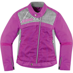 Icon Hella 2 Dames textiel jas, pink, L Voordonne