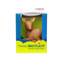 ANSMANN® Einschlafhilfe Mobiles Nachtlicht Reh Mobile, die LED-LICHT Einsc