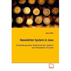 Newsletter-System in Java als Buch von Simon Tiffert