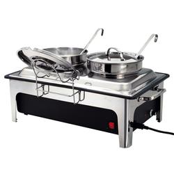 Bartscher Elektro-Suppenstation mit 2 Suppentöpfen à 4 l  (500840)