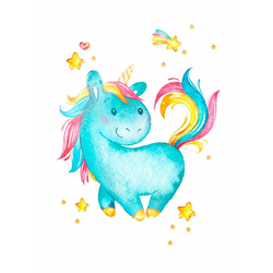 Poster »Milly the Unicorn«, Bilder, 48220446-0 bunt 40x50 cm bunt