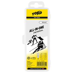 TOKO ALL IN ONE 120g Wachs