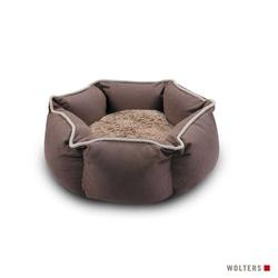 Wolters Eco-Well Hunde- & Katzenbett braun/beige, Größe: M