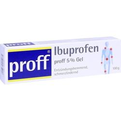 Ibuprofen proff 5 % Gel