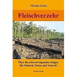 Fleischverzehr. Thomas Klein  - Buch