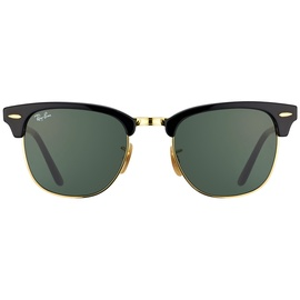 Ray Ban Clubmaster Classic RB2176 901 51-21 gloss black/green