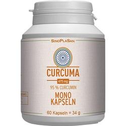 CURCUMA 475 mg 95% Curcumin Mono-Kapseln 60 St.
