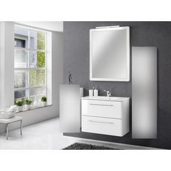 Badezimmer Beta in Weiß 3 teilig mit Waschbeckenunterschrank inklusive Becken...