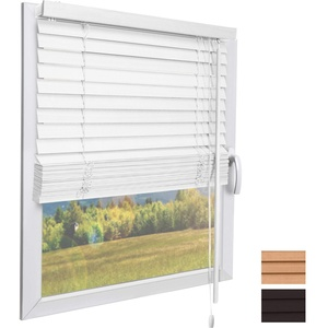Sol Royal Holzjalousie SolDecor JH3 Jalousie aus Holz in Weiß - 40x130 cm Tür- und Fensterjalousie Holz umweltschonend produziert - Jalousien Fenster