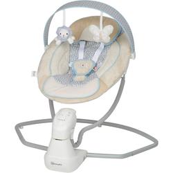 BabyGo Babywippe Cuddly, beige, elektrisch, mit Sound
