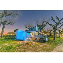 VW Bus Teilzelt GT Box Camping mit Fenster blau
