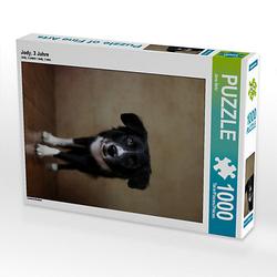Jody, 3 Jahre Lege-Größe 48 x 64 cm Foto-Puzzle Bild von Jana Behr Puzzle