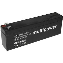 Multipower Blei-Akku MP2,4-12C Zyklenfes