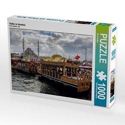 Hafen in Istanbul Lege-Größe 64 x 48 cm Foto-Puzzle Bild von Rico Ködder Puzzle