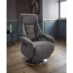 Places of Style TV-Sessel Launceston, in Größe L, wahlweise mit Motor und Aufstehhilfe grau