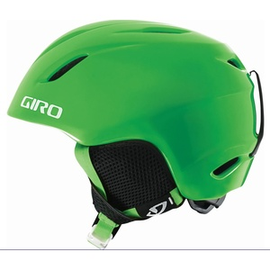 GIRO Kinder Skihelm Launch, Bright Green, XS/S