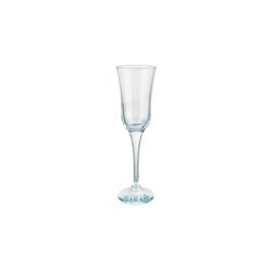 BUTLERS Champagnerglas SHEER BLUE 6x Champagnerflöte 190ml
