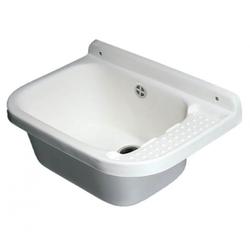 Kreher Waschbecken Waschbecken 60 cm mit Zubehör