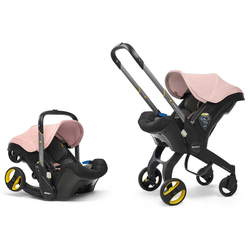 Doona+ Babyschale Travelsystem 2-in-1 (7 Farben) Blush Pink