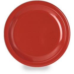 WACA Speiseteller, Melamin, Ø 23,5 cm rot