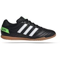 adidas Super Sala IN core black/cloud white/solar green 47
