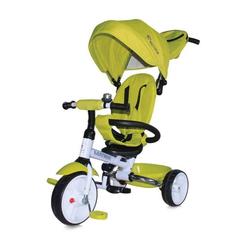 Lorelli Dreirad Tricycle Matrix 3 in 1, klappbar, EVA-Reifen, Lenkstange, Faltdach grün