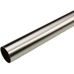 Gardinenstange Gardinenstange, Liedeco, Stilrohr Ø 28 mm (1 Stück), Liedeco, Ø 28 mm, 1-läufig, Fixmaß Ø 28 mm x 240 cm